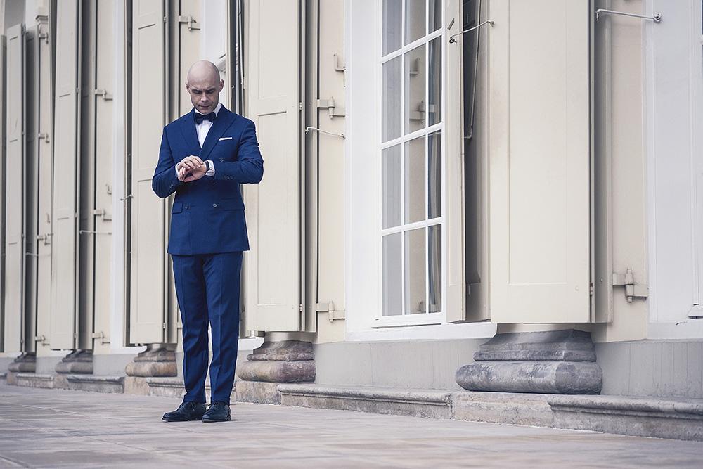 Garnitur ślubny dwurzędowy - Buczyński